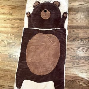 "Land of Nod ""Carson"" bear 🐻 sleeping bag"